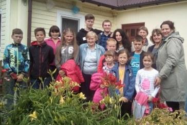 Kašonių bendruomenės vaikai vasarą leidžia kūrybingai