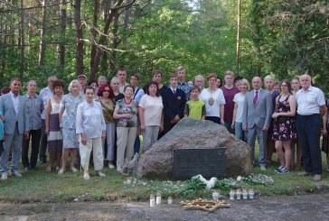 Žydų sušaudymo vieta Prienuose. Minėjimo fotoreportažas