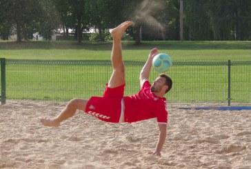 Prieš Eurolygos turnyrą Italijoje – paplūdimio futbolo rinktinės stovykla Prienuose