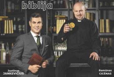 """""""Alkoholio biblija"""" – šou Prienų KLC"""