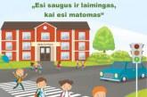 Saugaus eismo prevencinė akcija