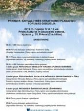 Strateginio planavimo diskusija