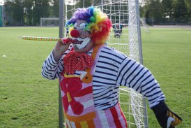 """Futbolo diena"" Birštone.  Bumsio mankštos (TV)"