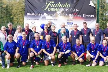 Futbolo diena Birštone.  Politikų kovos (Fotoreportažas)