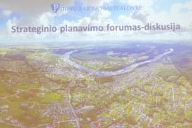 Prienų rajono savivaldybė. Strateginio planavimo forumas – diskusija (Fotoreportažas)