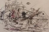 """Arno Rasimavičiaus grafikos darbų parodos """"Kasdienybės metamorfozės"""" atidarymas (Fotoreportažas)"""