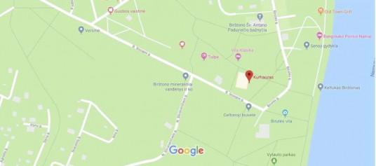 """Preview of """"Kurhauzas – """"Google"""" žemėlapiai"""""""