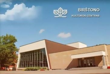 Birštono kultūros centro renginiai
