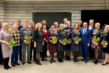 Padėkos Prienų miesto buvusiems ir pažymėjimų įteikimas naujai išrinktiems seniūnaičiams(Fotoreportažas)