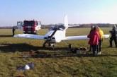 Pociūnuose nusileidimo metu apsivertėdvivietis privatus lėktuvas