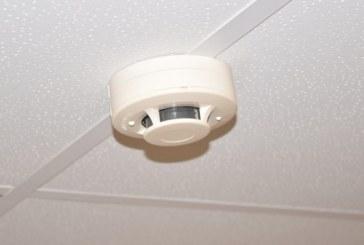 Įrengtas dūmų detektorius išgelbėjo nuo nelaimės
