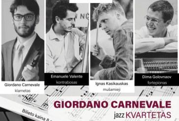 Giordano Carnevale Jazz kvartetas Kurhauze