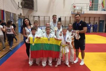Tarptautiniame dziudo turnyre Izraelyje – sėkmingas prieniškių pasirodymas