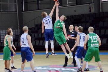 """Pirmajame rajono krepšinio pirmenybių ture – varžybų naujokų, Birštono """"Versmės"""" krepšininkų, įtikinama pergalė"""