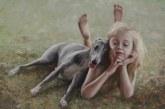 """Eva Mili paroda """"Šuniškas gyvenimas/Katino dienos"""" Kurhauzo galerijoje (Fotoreportažas)"""