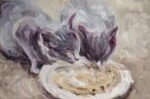 """""""Šuniškas gyvenimas. Katino dienos"""" – Evos Mili paroda apie gyvūnus"""