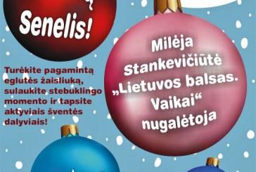 Kalėdų eglės įžiebimas Prienuose
