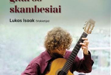 Klasikiniai gitaros skambesiai Kurhauze
