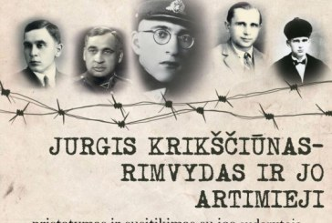 """Knygos """"Jurgis Krikščiūnas – Rimvydas ir jo artimieji"""" pristatymas Birštono bibliotekoje"""