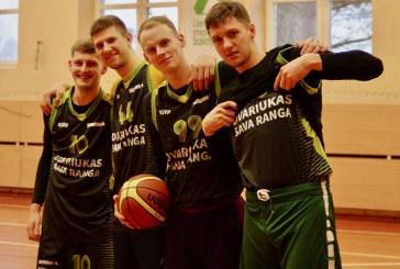 Išlaužo kalėdiniame krepšinio turnyre– rekordinis komandų skaičius