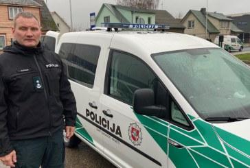 Prienų policijos komisariate atnaujinta trečdalis automobilių parko