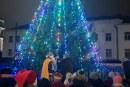 Kalėdų eglės įžiebimo šventė Jiezne (organizatorių nuotr.)