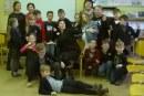 Rašytojos Ilonos Ežerinytės vizitas Jiezno gimnazijoje