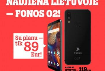 """Naujiena Lietuvoje: """"Tele2"""" pristato išmanųjį """"Fonos O2"""""""