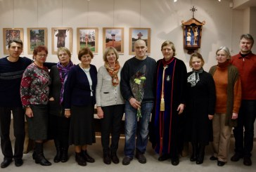"""TomasStambrauskas–antrosios vietos laimėtojas """"Aukso vainiko""""konkurse"""