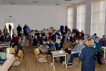 "Konferencija  ""Senieji amatai karjeros ugdymui"" Jiezno gimnazijoje (Fotoakimirkos)"