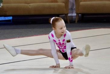 Gimnastikos varžybos Prienų arenoje (Fotoakimirkos)