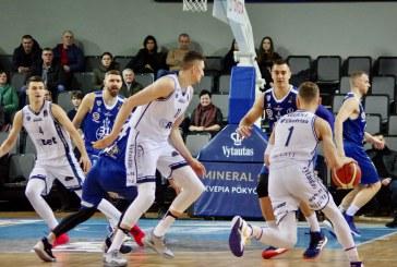 """Arno Veličkos ir Lauryno Biručio taškų """"CBet"""" pergalei rungtynėse su """"Neptūnu"""" nepakako"""