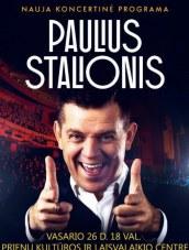 PAULIUS STALIONIS atvyksta į Prienus su nauja koncertine programa