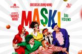 """Kultinis Odesos klounų namų """"MASKI"""" rezidentų šou atvyksta į Birštoną !"""