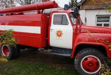 """Savivaldybės priešgaisrinė tarnyba – 24/7 pagalba gyventojams su praeito amžiaus """"Zil"""" automobiliais"""
