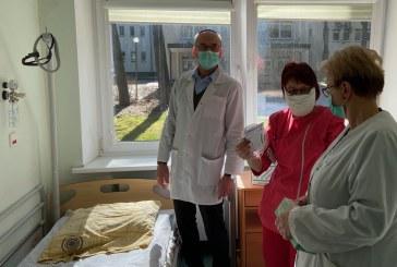 Prienų ligoninėje slaugos skyrius pertvarkomas į lengvos formos užkrato nešiotojų izoliatorių