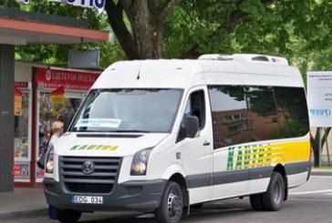 Koronavirusas stabdo susisiekimą autobusais