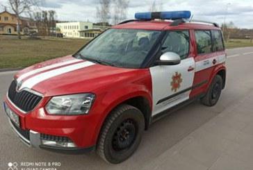Prienų PGT pareigūnai ne tik informuos apie gaisrų žalą, bet ir padės įgyvendinti karantino reikalavimus