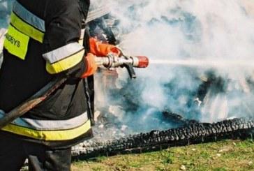 Alšininkų kaime sudegė pirtis