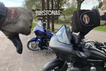 Birštonas organizuoja gyventojų apklausą dėl motociklų judėjimo kurorte