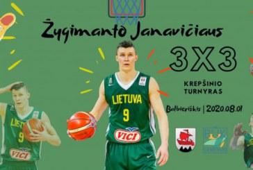 žygimanto Janavičiaus vardo 3×3 krepšinio turnyras Balbieriškyje
