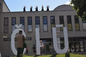 """Ačiū, Lietuva"" akcija Prienuose (Fotoreportažas)"