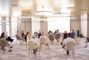 """Merės susitikimas su žurnalistais  """"Vytautas active"""" konferencijos centre (Fotoreportažas)"""