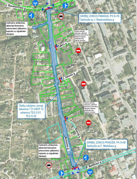 Revuonos gatves planas