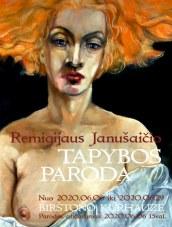 Remigijaus Janušaičio tapybos paroda