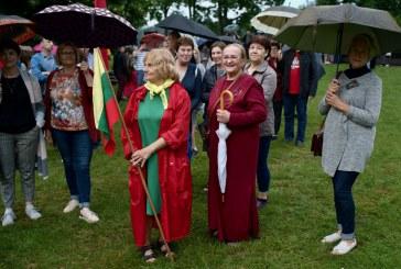 Tautiškos  giesmės giedojimas Birštone ir koncertas, skirtas Mindaugo karūnavimo dienai (Fotoreportažas)