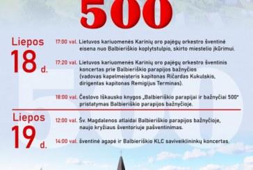 Balbieriškio parapijai-500