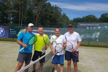 """Kraštiečiai teniso turnyre """"Dubingiai Open 2020"""" iškovojo dvi prizines vietas"""