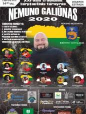 """""""Nemuno galiūnas 2020"""" Birštone"""