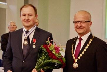 Prienų Garbės piliečio vardo Arvydui Paukščiui suteikimo ceremonija (Fotoreportažas)